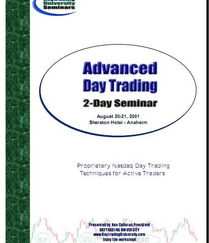Daytrading University – Advanced Daytrading Two-Day Seminar