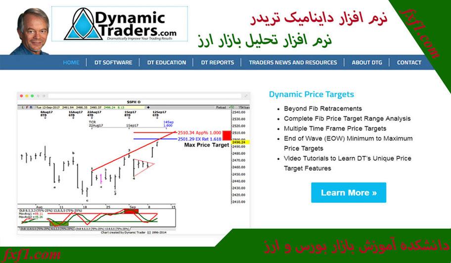 نرم افزار Dynamic Trader