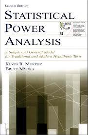 K R Murphy, B Myors – Statistical Power tahlil
