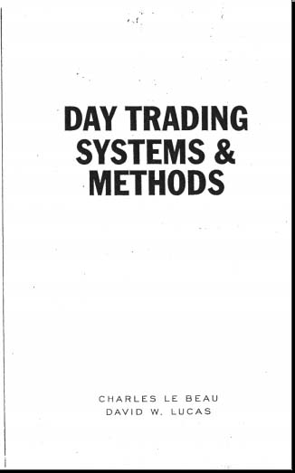 Day Trading Systems & Methods