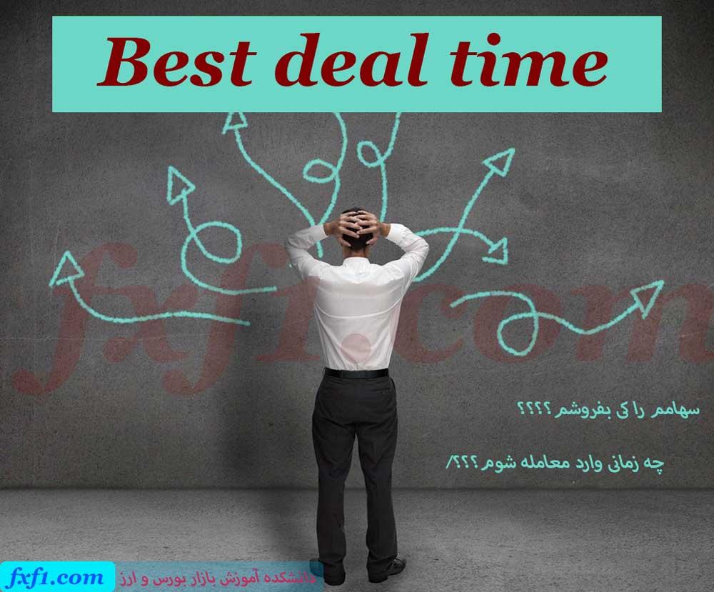 بهترین زمان خرید و فروش سهام