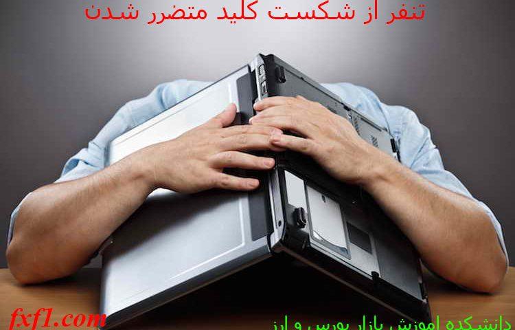 تنفر از شکست کلید ضرر در بورس