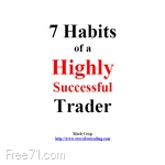 ۷Habits Of A Higly Sucsessfull Trader