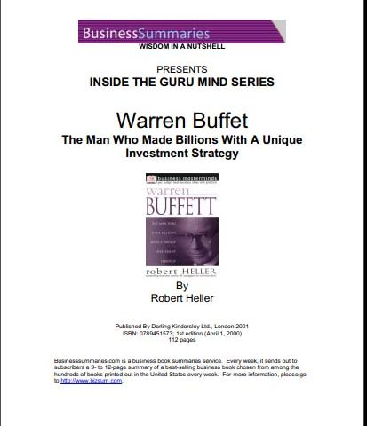 Warren Buffet – Inside The Guru Mind Warren Buffet-R  Heller