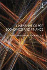 Harrison Waldron – Mathematical Economics and Finance