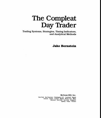 Jake Bernstein – The Compleat Day Trader Vol I,II
